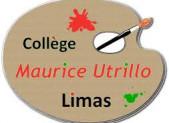 Tract aux parents. Collège M Utrillo, Limas