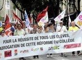 Nîmes: Noël de lutte contre la réforme