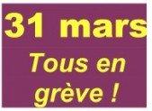 Préparation de la grève du 31 mars